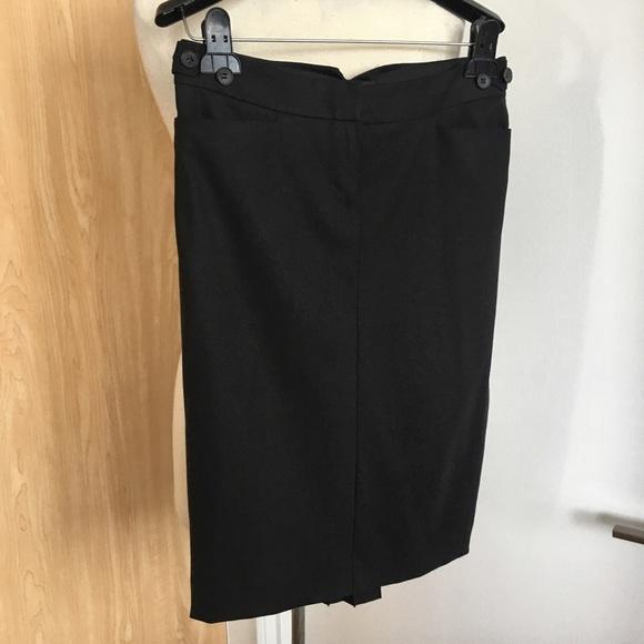 20ac4e63bc4 Club Monaco Adjustable Waist Wool Pencil Skirt